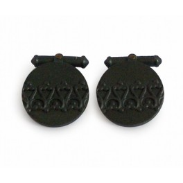 Wrought Iron Cufflinks