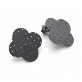 Quatrefoil Silhouette Earrings