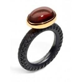 Oval Garnet Ring