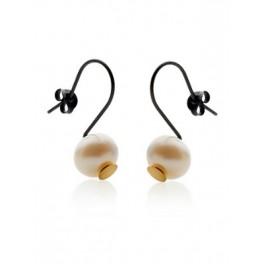 Pearl Hook Gold Dot Earrings