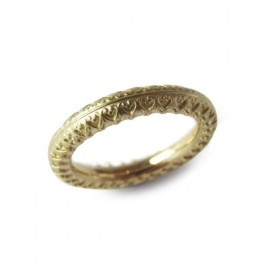 Decorated Gold Band