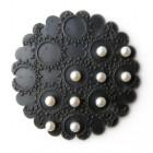 Pearl Pattern Brooch